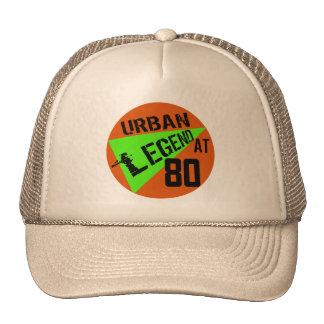 Urban Legend 80th Birthday Gifts Cap