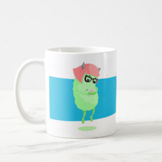 Urban Monster with a phone Coffee Mug