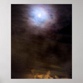 Urban Moon Poster