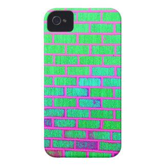 Urban Neon Brick Wall iPhone 4 Case