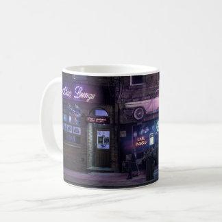 Urban night life concert mug