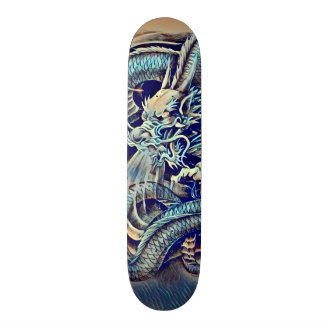 Urban Ninja Chinese Dragon Pro Park Deck 21.6 Cm Skateboard Deck