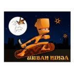 Urban Ninja Post Card