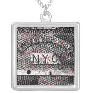 Urban NYC Square Pendant Necklace