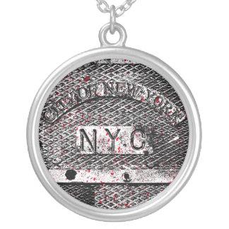 Urban NYC Round Pendant Necklace