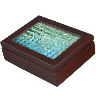 Urban Oasis Keepsake Box by Artist C.L. Brown