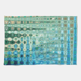 Urban Oasis Kitchen Towel by Artist C.L. Brown