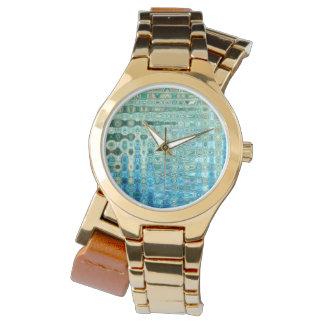 Urban Oasis Women's Wraparound Gold Watch
