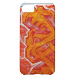 Urban Orange Wall Case For iPhone 5C