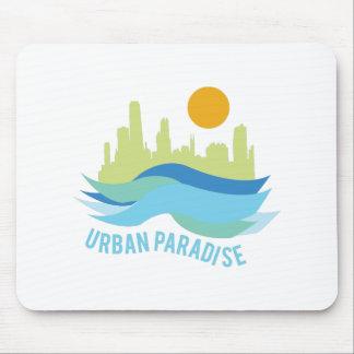 Urban Paradise Mouse Pad