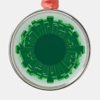 Urban Planet Christmas Ornament