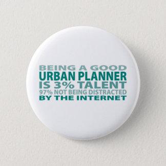 Urban Planner 3% Talent 6 Cm Round Badge