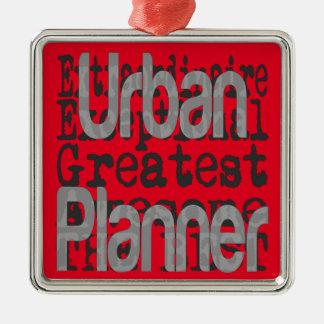 Urban Planner Extraordinaire Christmas Ornament