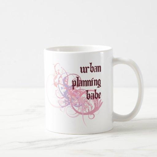 Urban Planning Babe Mug