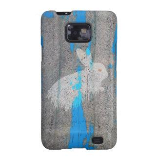 Urban Rabbit Graffiti Samsung Galaxy SII Cover