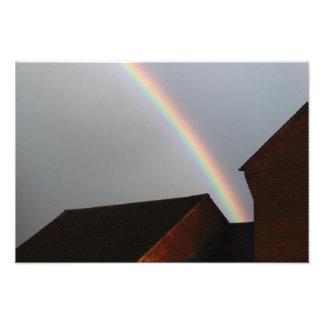 Urban Rainbow Photo Print