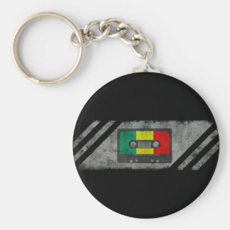 Urban reggae cassette key ring