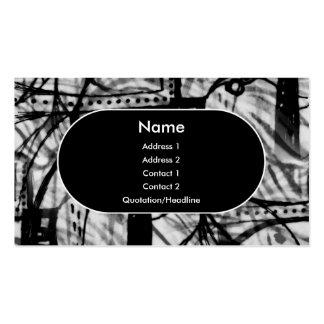 Urban Revival - Monochrome Business Card Template