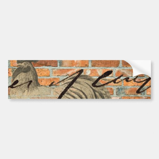 Urban Rooster Bumper Stickers