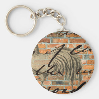Urban Rooster Key Chain