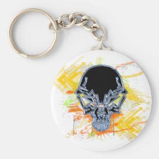 Urban Skull Keychain
