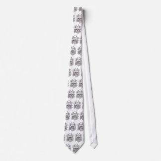 urban skull tie