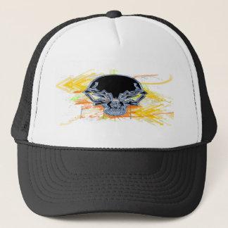 Urban Skull Trucker Hat