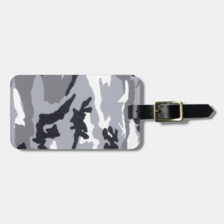 Urban/Snow Camo Luggage Tag