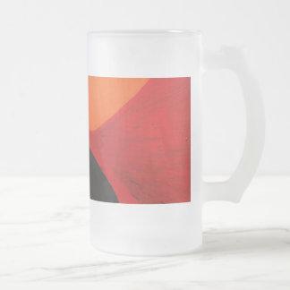 Urban Splash. Frosted Glass Beer Mug