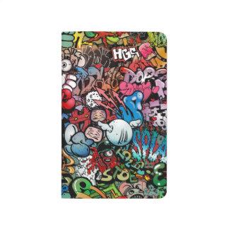 Urban street art Graffiti characters pattern Journals