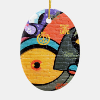 Urban Street Art-Graffiti Christmas Ornament