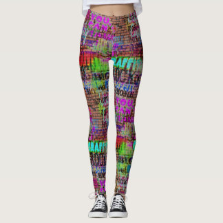 Urban Street Art Graffiti Leggings