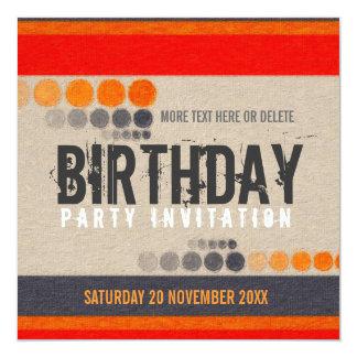 Urban Street Birthday Party Invitation