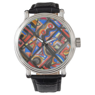 Urban Street One-Abstract Art Geometric Watches