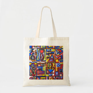 Urban Street Two - Abstract Art Tote Bag