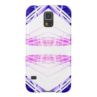 Urban Structurization 1 - Purple Blue Futurism Samsung Galaxy Nexus Cover