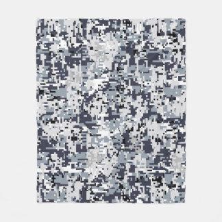 Urban Style Digital Camouflage Decor Fleece Blanket