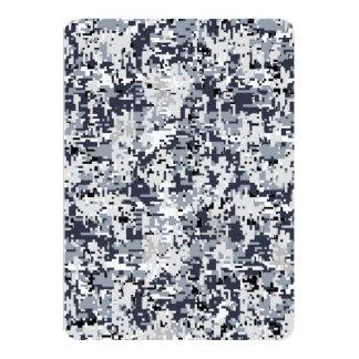 Urban Style Digital Camouflage 13 Cm X 18 Cm Invitation Card