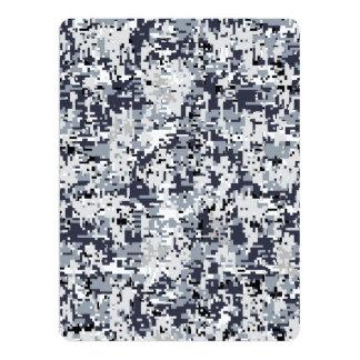 Urban Style Digital Camouflage 17 Cm X 22 Cm Invitation Card