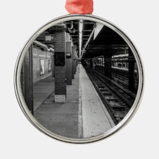 Urban Subway photo Christmas Ornament
