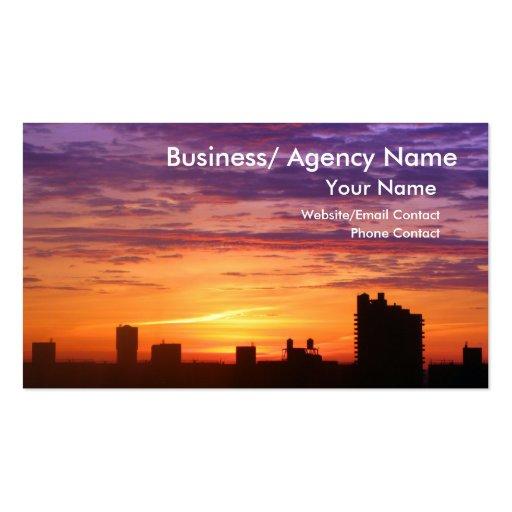 Urban Sunrise Business Cards