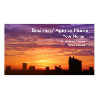 Urban Sunrise Pack Of Standard Business Cards