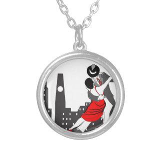 Urban tango necklace