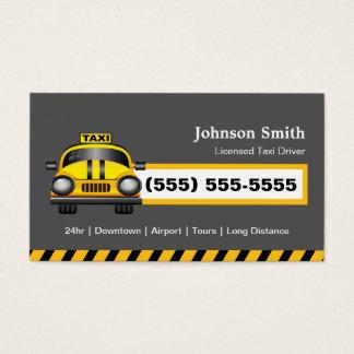 Urban Taxi Driver Chauffeur - Yellow Cap