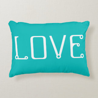 Urban tech LOVE Throw Pillow