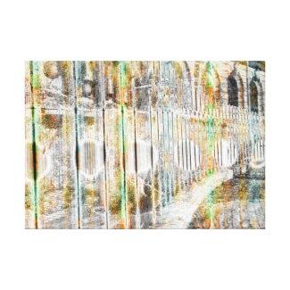Urban Temple Canvas Print