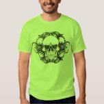 Urban tribal skull t shirt