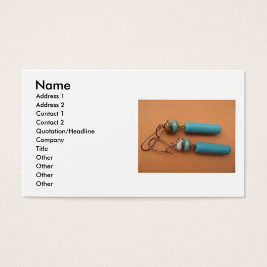 Urban Turquoise Business Card