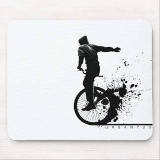 Urban Unicycle A Mouse Mat