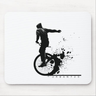 Urban Unicycle Mouse Mat